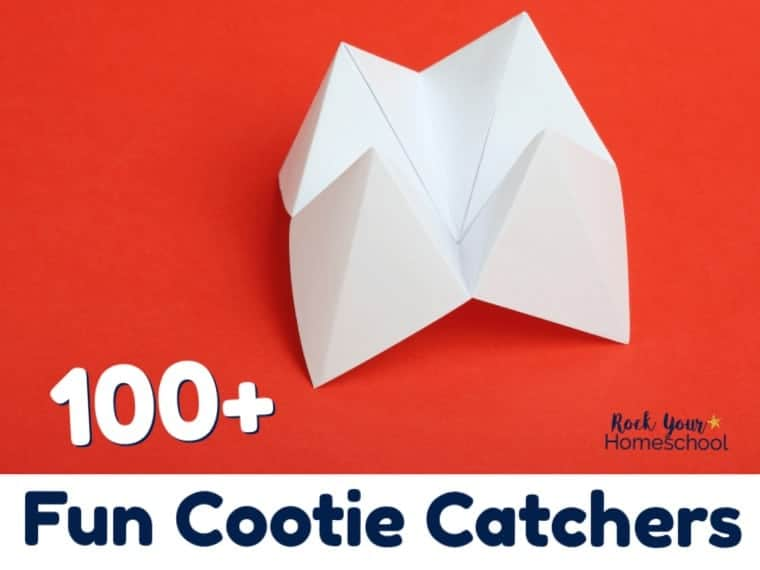 100 Creative Ideas & Printables for Fun Cootie Catchers