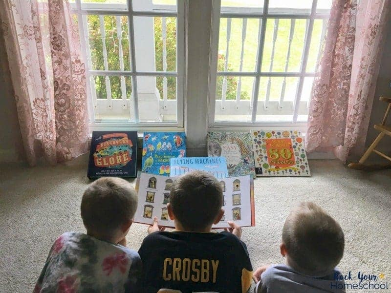 Your kids will find these children's books to be fun ways to learn about the world around them.