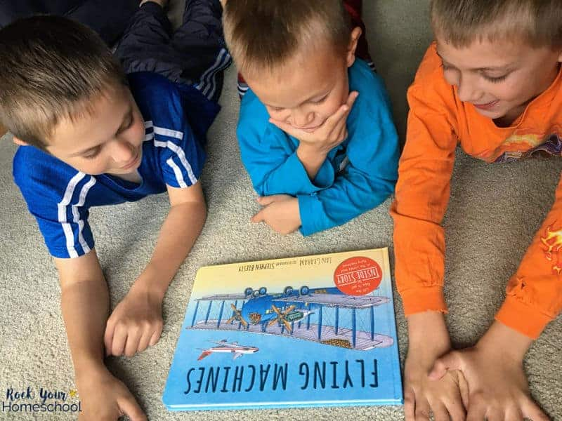 Get your kids involved in learning fun by exploring the world around them with children's books!