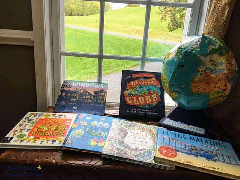 These children's books from Candlewick Press are wonderful ways to spark curiosity & exploration in your kids.