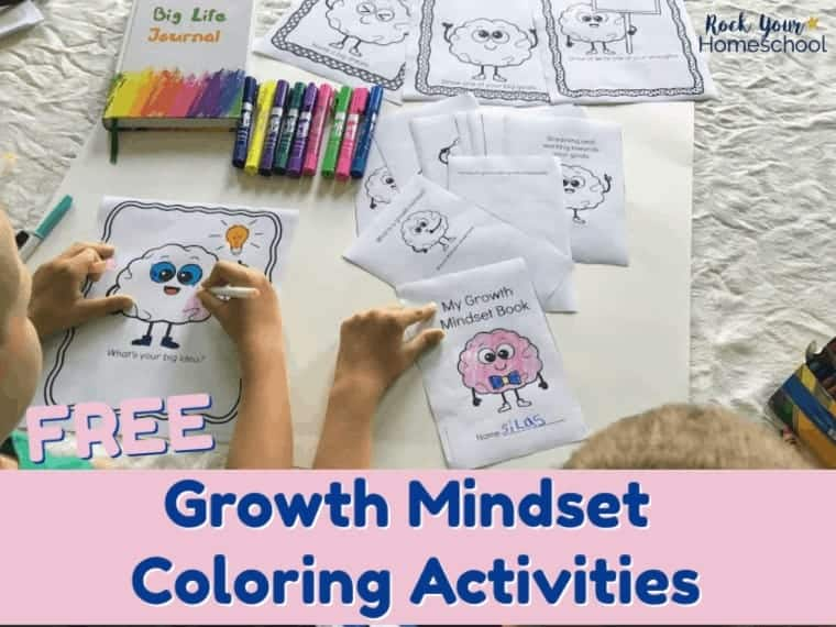 Boost your growth mindset lessons & discussions with these free Growth Mindset Coloring Activities.