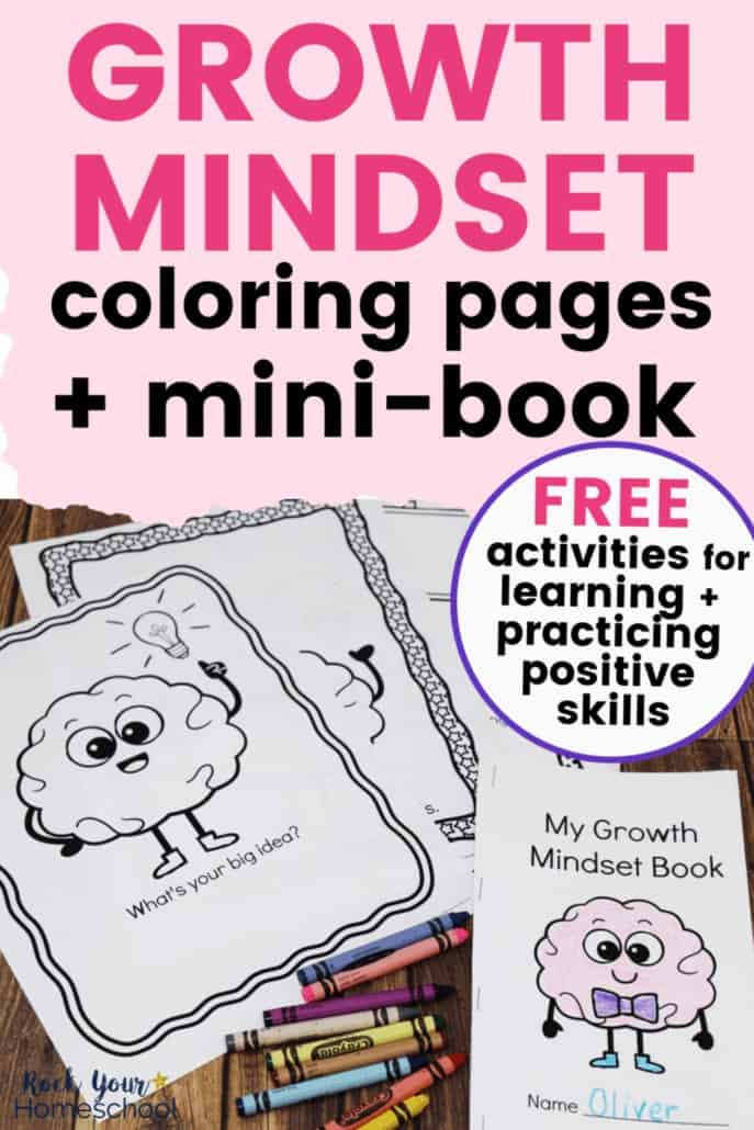 Free Growth Mindset Coloring Activities Kids Will Love