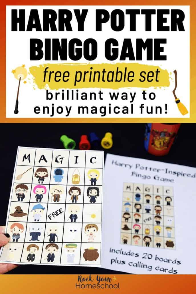 Free Harry Potter-Inspired Bingo Game Kids Will Love