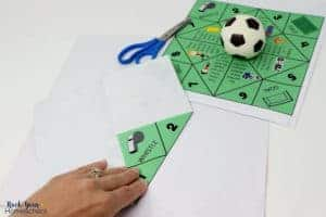 Make this free printable soccer cootie catcher for wonderful fun with kids.