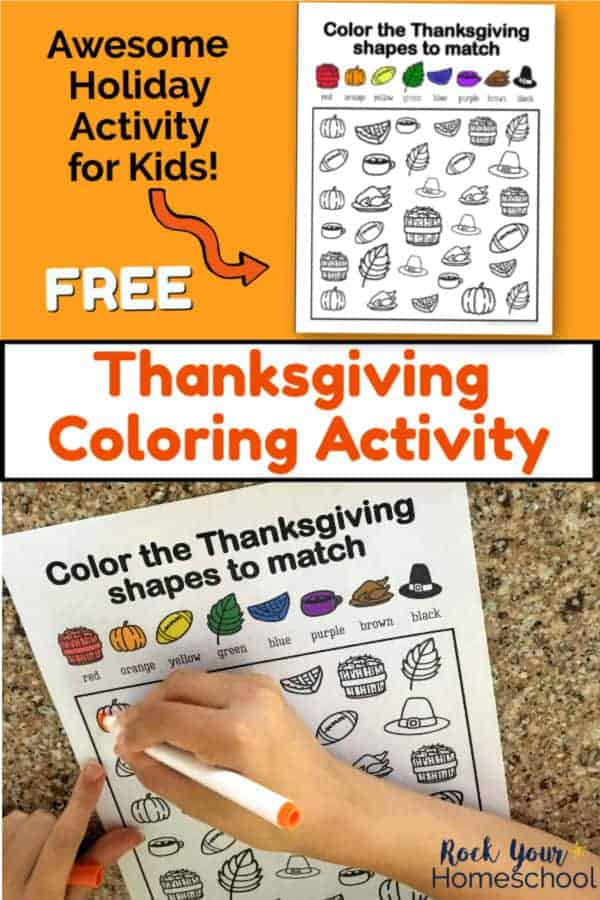 Free Thanksgiving Coloring Activity for Amazing Holiday Fun