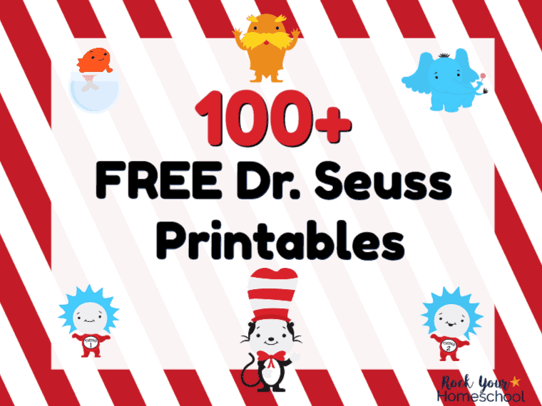 image relating to Free Printable Dr Seuss Quotes identify 100+ Absolutely free Dr. Seuss Printables Functions for Exceptional