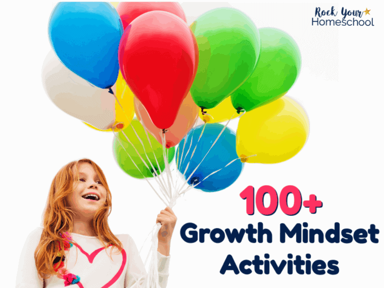 Over 100 growth mindset activities for you to learn about how this positive approach can help you & your kids. Discover what a growth mindset is & fun ways you can practice these concepts with your kids. Includes printables, resources, games, & more!