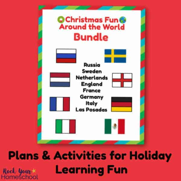Have Christmas Fun Around the World with your kids using these amazing plans & activities.