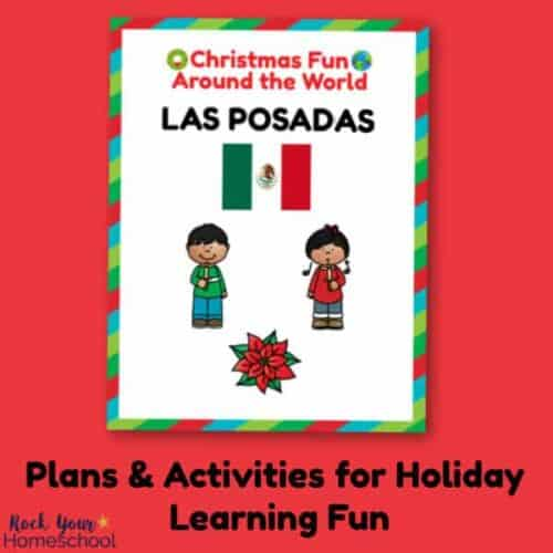 Learn all about Christmas in Mexico & the Las Posados celebration with these plans & activities to enjoy with your kids.
