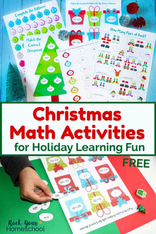 Free Christmas Math Activities for Wonderful Holiday Learning Fun