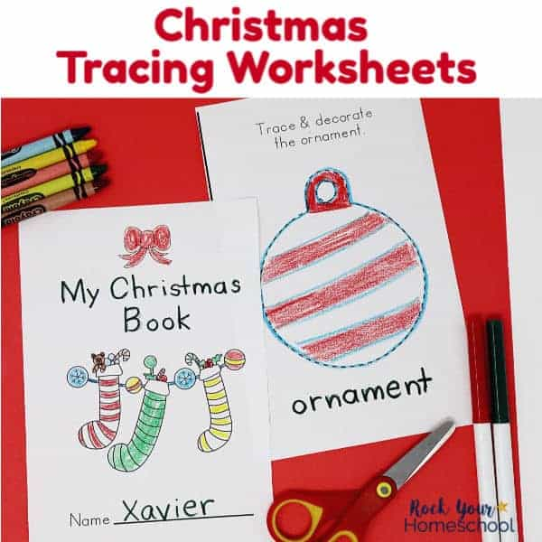 Get these free Christmas Tracing Worksheets for your kids to enjoy this holiday season.