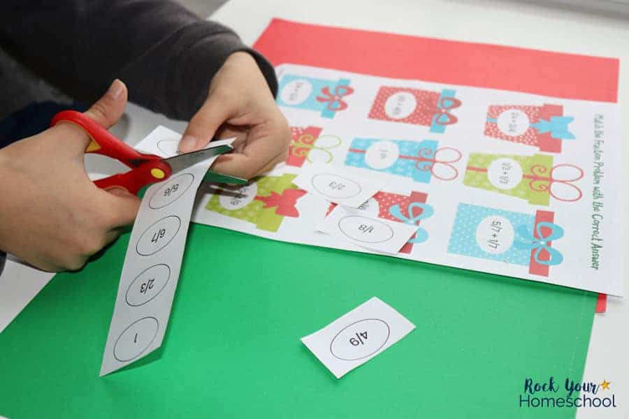 Enjoy these free printable Christmas math activities for holiday learning fun with kids.