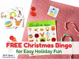 Enjoy this free Christmas Bingo game for easy holiday fun with kids.
