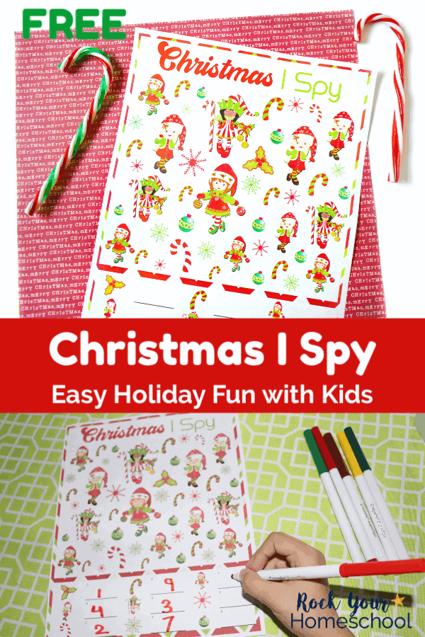 Free Christmas I Spy for Easy & Fun Holiday Activity ...