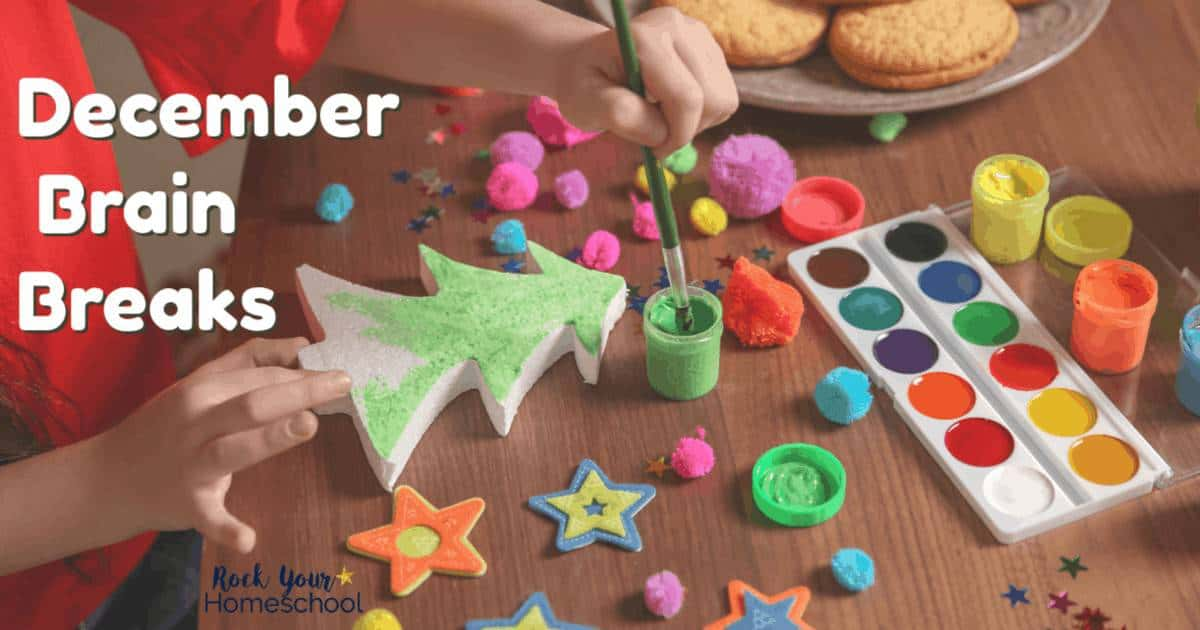 Have easy fun with kids this month! These free printable December Brain Breaks cards are fantastic ways to help you enjoy downtime.