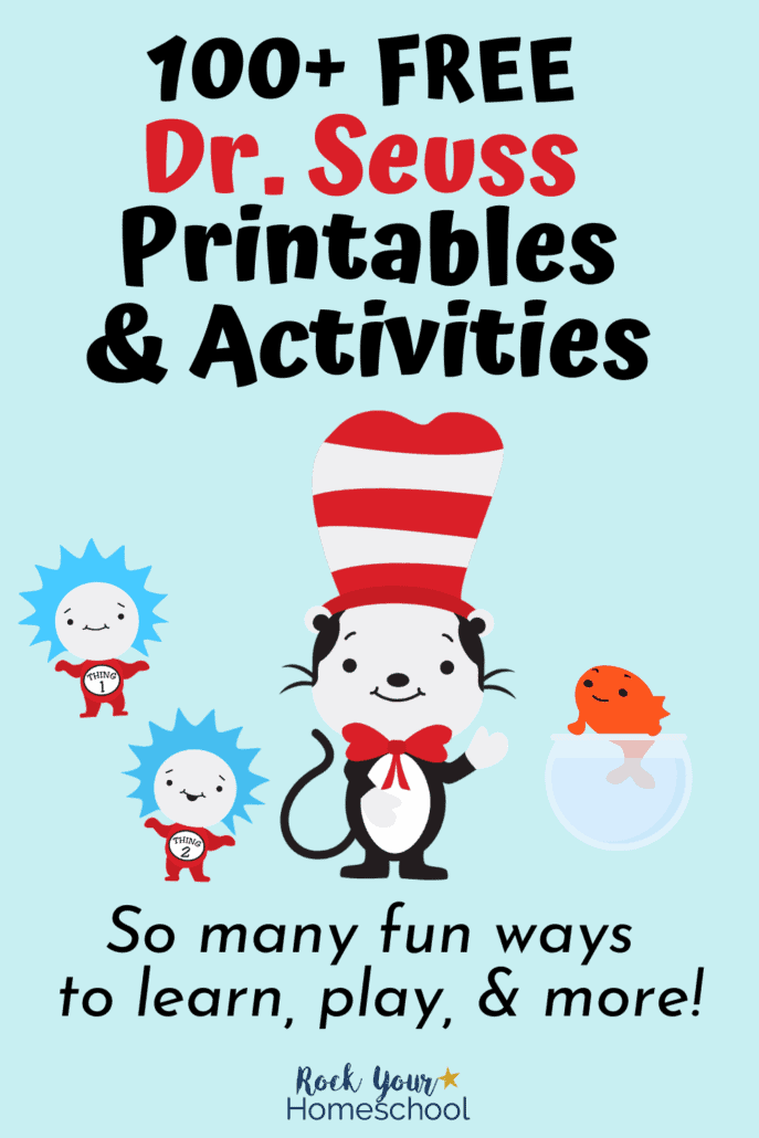 Free Dr. Seuss Printables With 100+ Ways To Boost Learning Fun