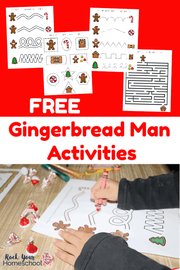 Fun Amp Free Printable Gingerbread Man Activities For Kids
