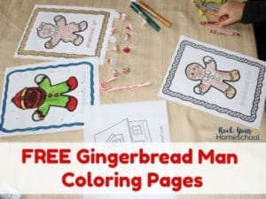This set of free Gingerbread Man Coloring Pages will help you have easy holiday fun with your kids.