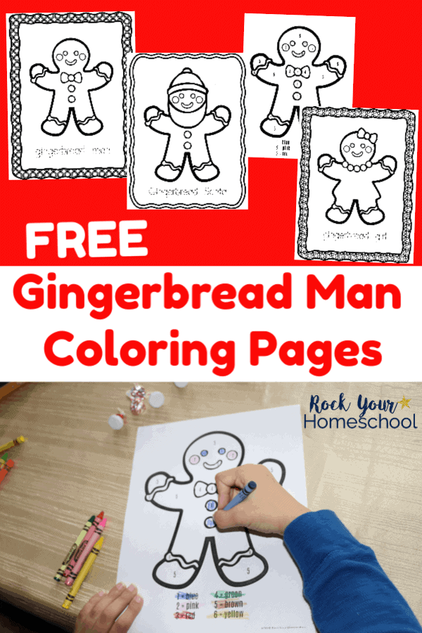 Free Gingerbread Man Coloring Pages Kids Will Love Rock Your