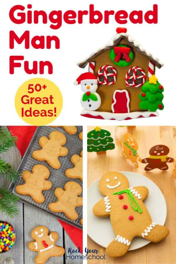50+ Easy Ways to Have Gingerbread Man Fun with Kids