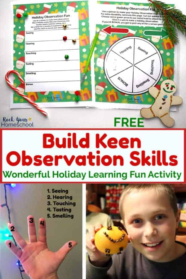 How to Build Keen Observation Skills with Easy Holiday Fun