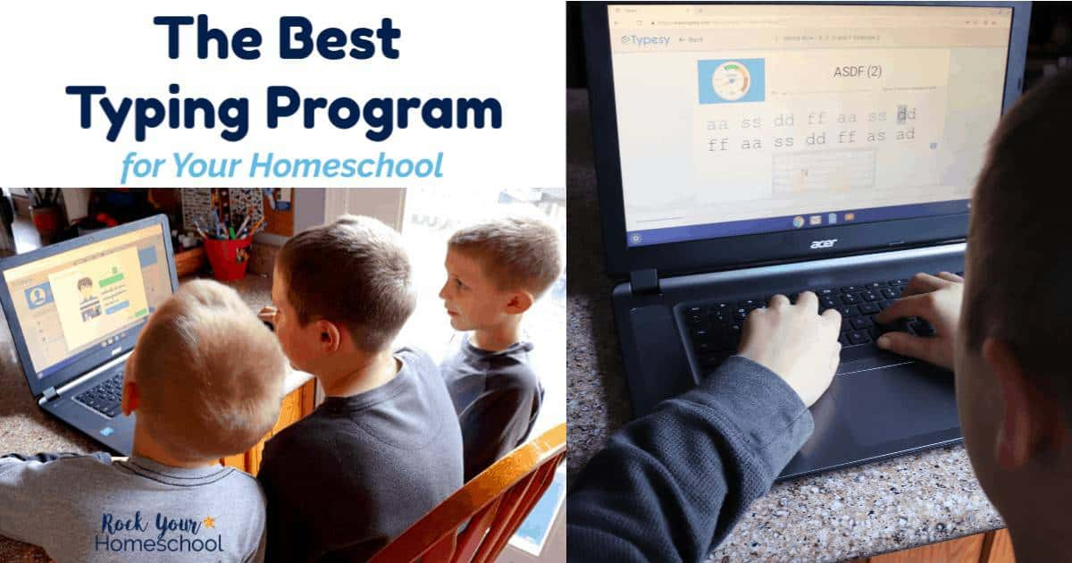 Find out why Typesy is the best typing program for your homeschool. My boys & I love it-and know you will, too.