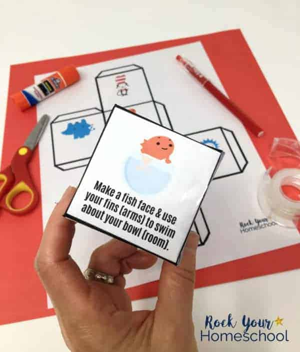 Great for parties, classroom, library, homeschool, & family fun! This free printable Dr. Seuss-Activity Cube will be a hit with your kids.