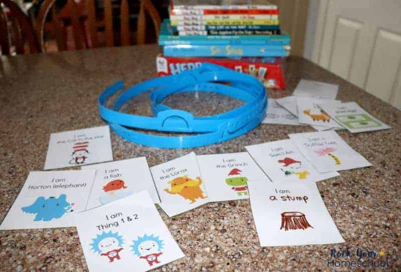 You can get creative with this free printable Dr. Seuss-Inspired Headband Game. Enjoy interactive fun with your kids & these classic characters.