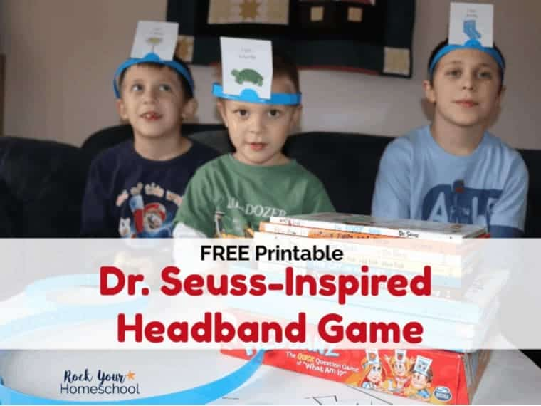 Free Dr. Seuss-Inspired Headband Game for Interactive Fun