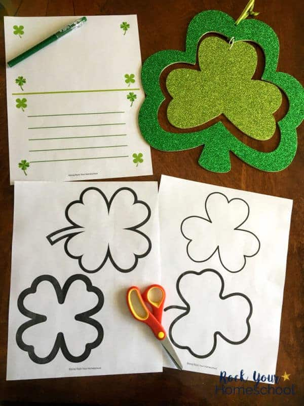 This free printable pack for St. Patrick's Day Poetry Fun is wonderful for learning about & creating limerick poems.