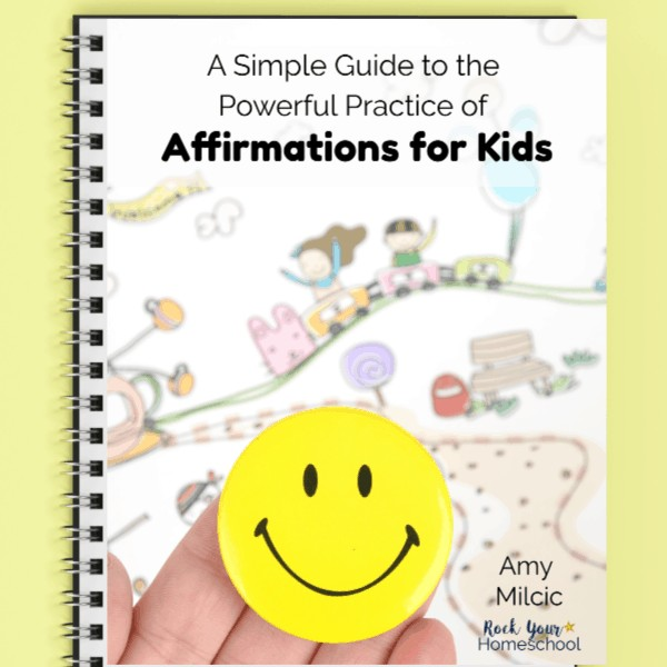 This simple guide & helpful resources will help you discover, teach, & enjoy the powerful practice of affirmations for kids.