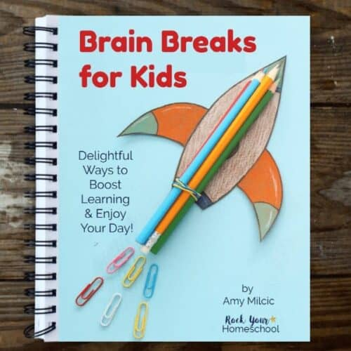 This simple guide to Brain Breaks for Kids will help you enjoy learning fun activities in your homeschool, family, & classroom. Includes over 340 prompts for easy brain breaks for kids to enjoy.