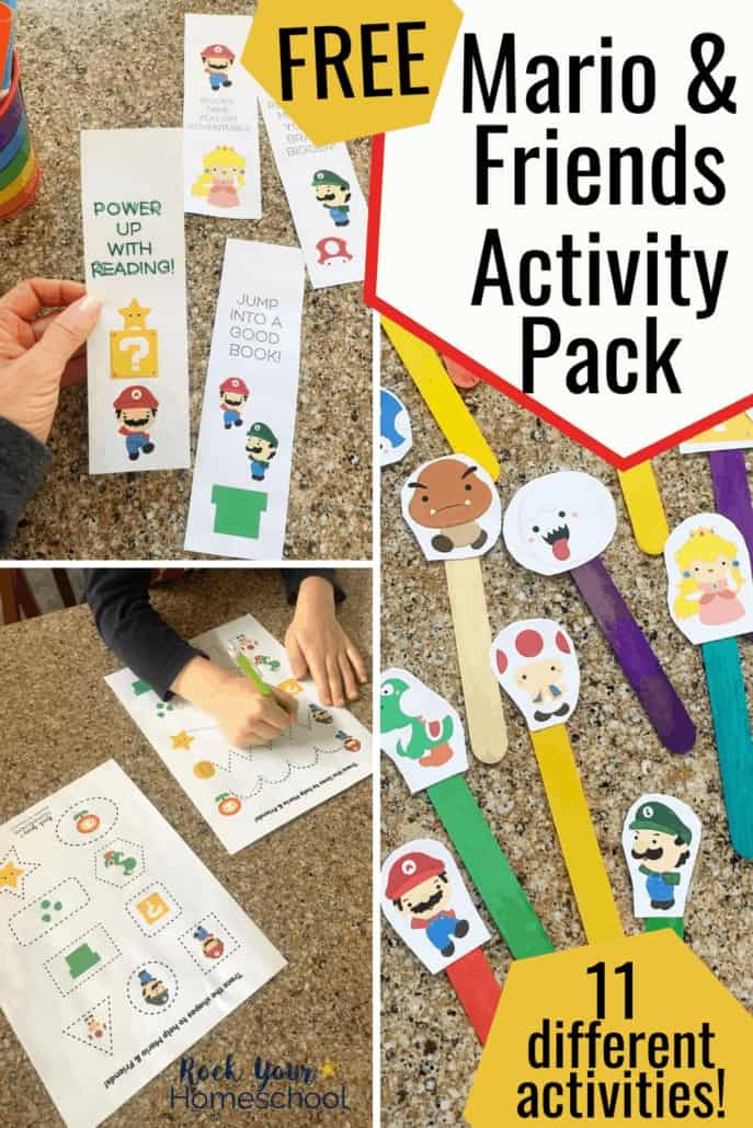 Free Super Mario Printables for Learning Fun with Kids