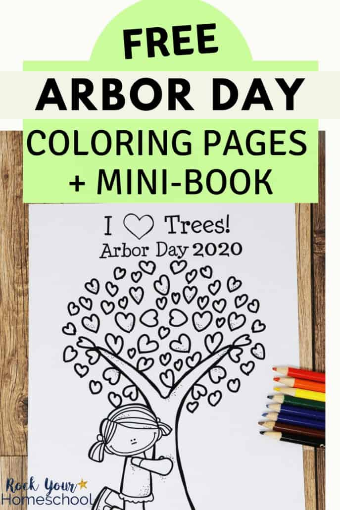 Free & Fun Arbor Day Coloring Pages for Kids-Updated for 2021