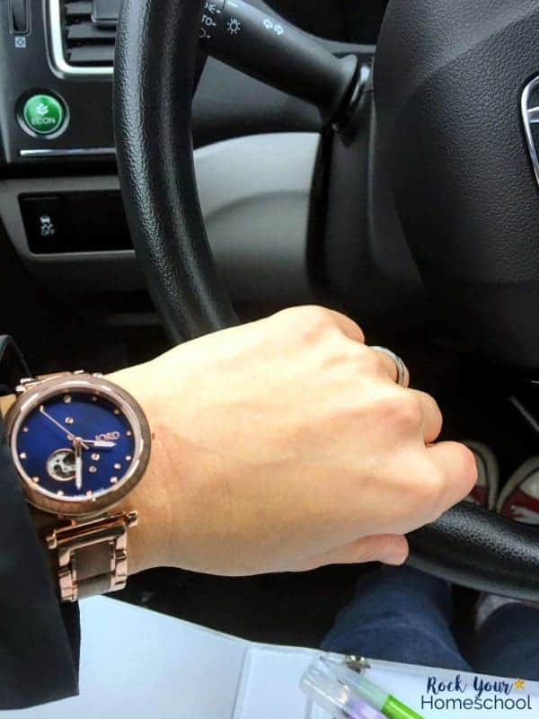 Wearing a gorgeous wristwatch can help you feel together, organized, & get to places on time!