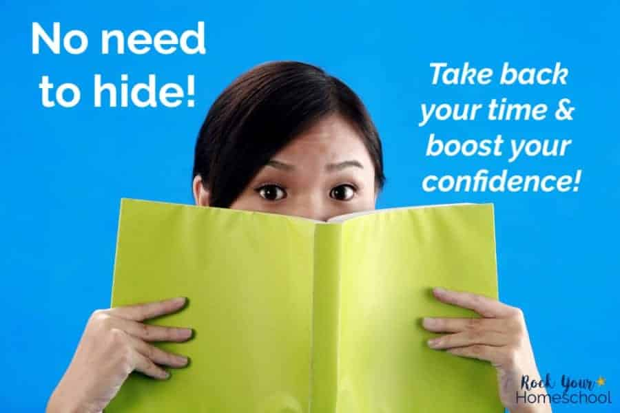 Find out how to take back your time & boost your confidence. No need to hide behind feeling frazzled, frumpy, & dumpy.