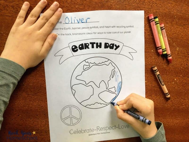 Your kids will have a blast with these free Earth Day Coloring Pages!