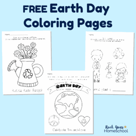 Earth Day Coloring Pages Archives Rock Your Homeschool
