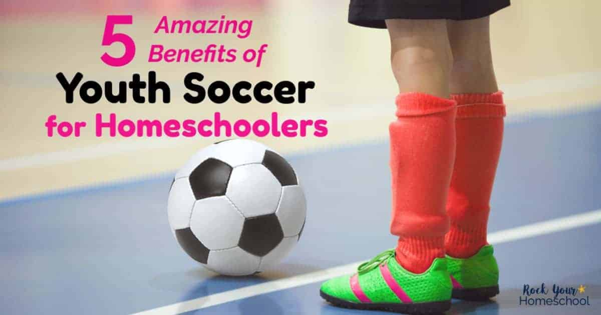 Got questions about youth soccer for homeschoolers? Find out why these amazing benefits are awesome for your kids.