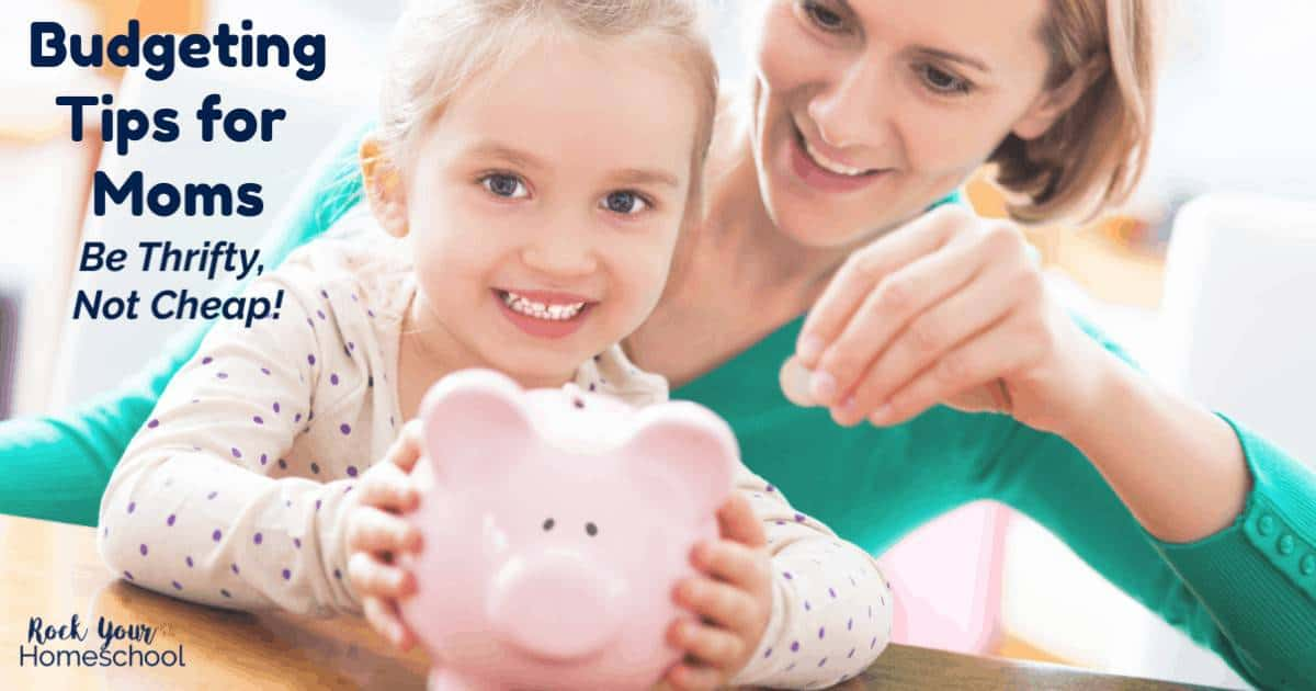These practical yet easy budgeting tips will help you be thrifty, not cheap with your family.