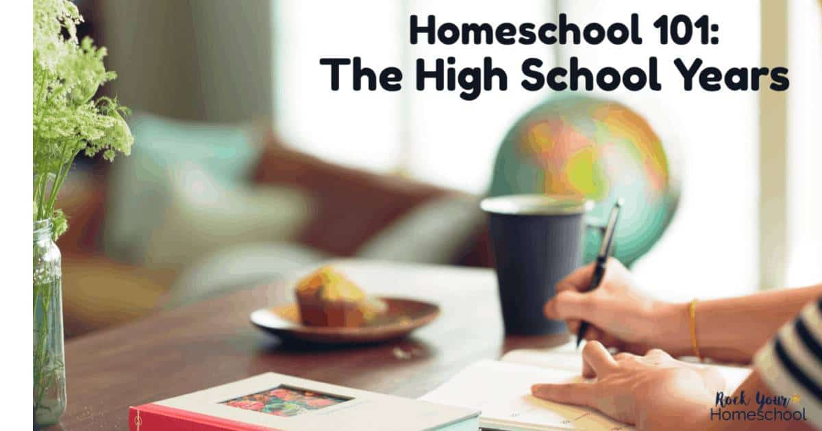 Does the thought of homeschooling high school make you want to curl up into a ball & hide? Take a deep breath & check out these tips & resources that will help you successfully homeschool high school.