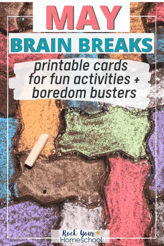 Free May Brain Breaks for Easy Homeschool Fun