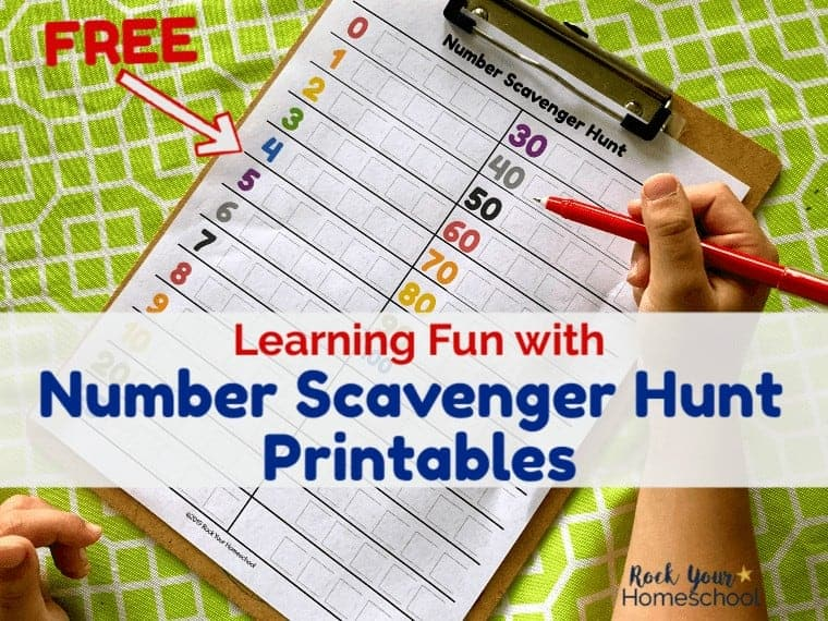 Fun Ways to Use This Free Number Scavenger Hunt Printable