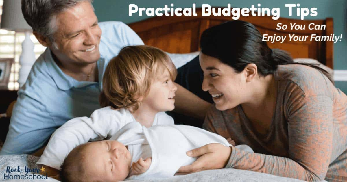 Use these practical yet easy budgeting tips for moms so you can be thrifty, not cheap with your family.