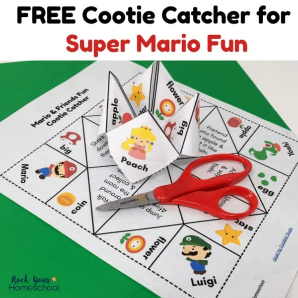 Have some awesome Super Mario Fun with this free cootie catcher.
