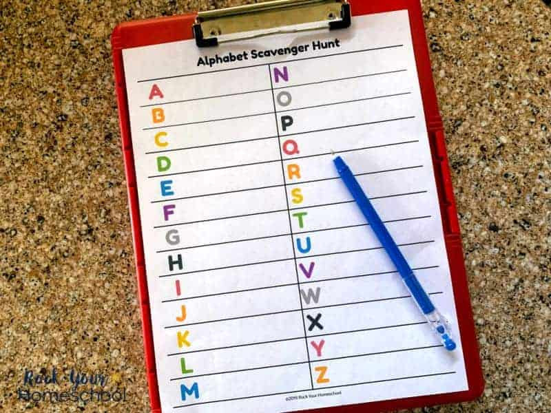 Have learning fun with an alphabet search!