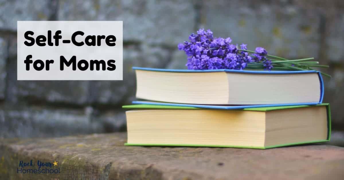 Get tips, tricks, & encouragement to enjoy self-care for moms.
