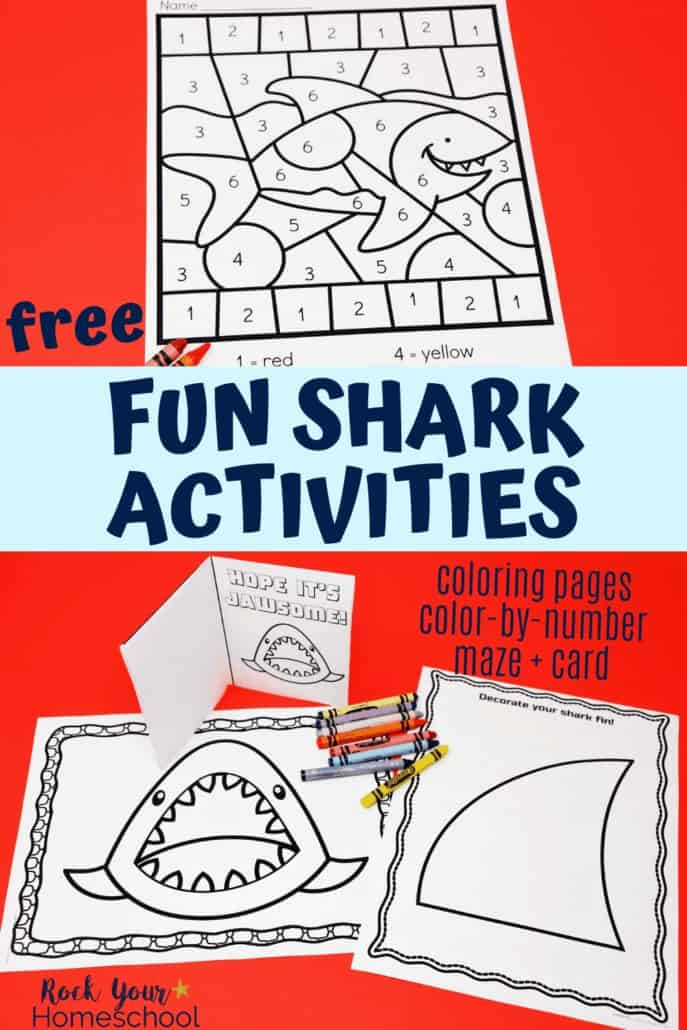 Easy Ways to Make Shark Week Fun with this Printable Pack UPDATED
