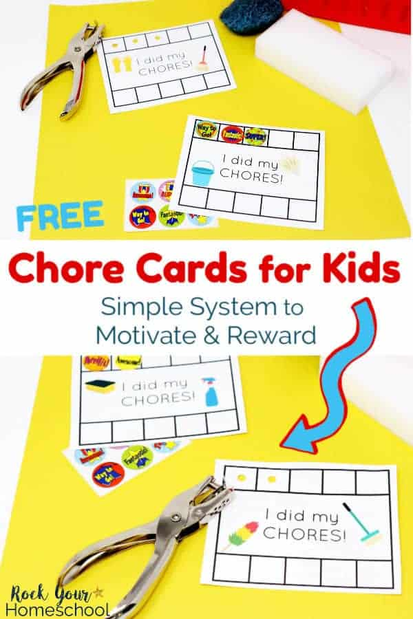 Easy Way to Make Chore Cards for Kids Fun