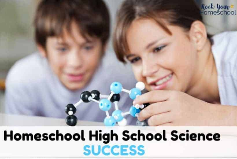 High school science doesn't have to be hard or stressful. Check out these tips to make it an enjoyable experience for your homeschool.